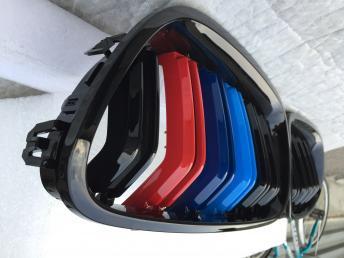 БМВ 5 Ф10 F10 Решетка радиатора черная