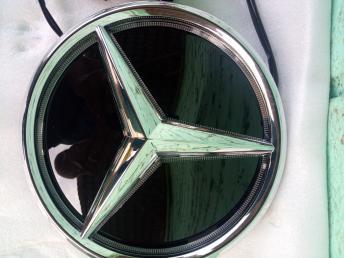 Звезда Мерседес эмблема с подсветкой W 213 E
