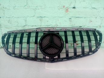 Мерседес решетка радиатора W 212 2013- черная E