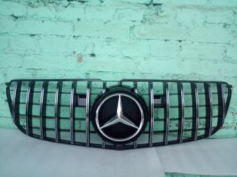Решетка радиатора Mercedes W 166 GLS GT хр