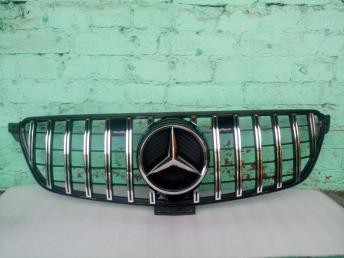 Решетка радиатора Mercedes W 166 GLE GT хр