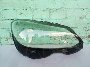 Мерседес W 212 рестайлинг стекло фары правое