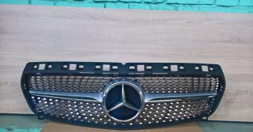Решетка радиатора диамант Diamond Mercedes W A176