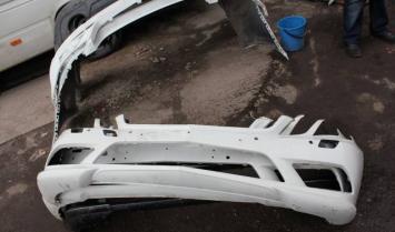 Мерседес E купе W207 Бампер передний амг пакет