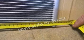 Мерседес Радиатор низких темпер C W 205 0995001903