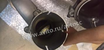 Мерседес насадка глушителя AMG амг W 204 6.3