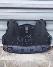 Бмв х5е70 BMW X5 E70 защита бампера передняя
