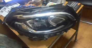 Мерседес фара ксенон диодная LED B Б 246