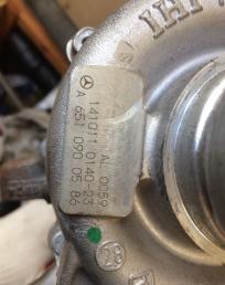 Турбина om 651930 Mercedes w176 w204 w212 x156 С E a6510900586